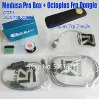 ORIGINAL nueva Medusa PRO caja de Medusa caja + octoplus Frp dongle + JTAG Clip MMC para LG para Samsung para huawei con Optimus cable