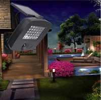 30 lámparas solares LED para iluminación exterior impermeable de jardín con función de Detector de movimiento seguridad PIR 2 años de garantía de protección