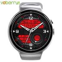 Voberry I4Air smart watch es 2G + 16G círculo Wifi de pagar Cámara GPS smart watch impermeable reloj teléfono android