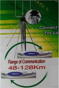 256 canales para elegir el último sistema telefónico inalámbrico de largo alcance SN-668 PLUS sistema de teléfono inalámbrico PBX