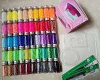 Perles Hama 2.6mm ~ perles PUPUKOU fusible ~ lot de 50 couleurs 31000 pièces + 3 modèle + 5 papier de fer + 2 pincettes perler bricolage artisanat pour enfants