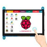 Elecrow portátil de 5 pulgadas Monitor HDMI 800x480 pantalla táctil capacitiva pantalla LCD para SONY PS4/Raspberry Pi /PC/Banana Pi