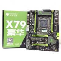 HUANANZHI X79 LGA2011 DDR3 PC ordinateurs de bureau LGA 2011 cartes mères d'ordinateur adaptées au serveur ECC ECC REG RAM