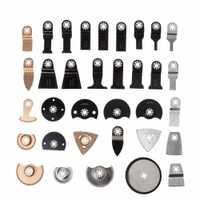 34 piezas herramienta Multi oscilante hojas de sierra accesorios kit para Fein Dremel Bosch
