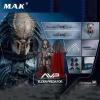 Juguetes calientes MMS325 AVP 1/6th escala Elder Predator figura coleccionable especificación