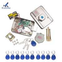 AA batterie sèche facile à installer serrure intelligente RFID casier électronique serrure de porte sans fil Rfid batterie électronique serrure de carte de proximité