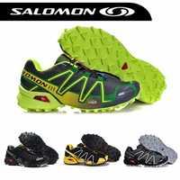 Salomon Speedcross 3 CS zapatos al aire libre para Hombre Zapatillas deportivas transpirables para correr para Hombre Mujer Zapatillas para correr