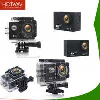 HOTWAV Cámara de Acción WIFI de 2,0 pulgadas de pantalla 4 K de la cámara del deporte Cámara 4 k Ultra HD 1080 P Cámara de Acción impermeable go pro Cámara