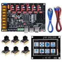 BIGTREETECH SKR PRO V1.1 Placa de Control 32 bits VS SKR V1.3 placa + TMC2208 UART TMC2130 piezas de impresora 3D + rampas MKS de pantalla TFT35 1,4