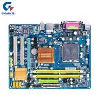 Gigabyte GA-G31M-ES2C 100% Original placa base LGA 775 DDR2 4G G31 G31M-ES2C placa base de escritorio SATA II Systemboard utilizado