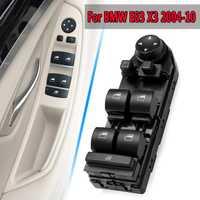 Nuevo conductor del coche ventana espejo interruptor de la unidad de Control para BMW E83 X3 2004-2010 Nuevo Negro izquierda /Derecha alta partido/bajo Match