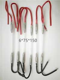 6*75*150mm OPT flash luz ipl mango dentro IPL lámpara de xenón ipl con alta calidad y gran valor 6 piezas