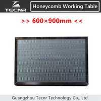 Nido de abeja de mesa de trabajo de 600*900 MM para CO2 máquina de corte por láser máquina de equipos de piezas de la máquina