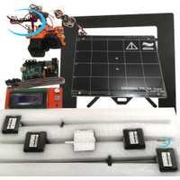 Prusa i3 mk2 3d DIY kit de impresora con marco de metal Mini Rambo 1.3a DE LA JUNTA 2004 LCD de aluminio cama caliente final motores paso a paso