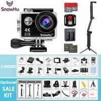 SnowHu Cámara de Acción H10R Ultra HD 4 K/25fps WiFi 2,0