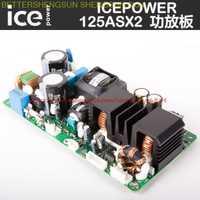 Livraison gratuite ICEPOWER carte amplificateur de puissance ICE125ASX2 carte amplificateur de puissance numérique ont un module amplificateur de puissance d'étape de fièvre