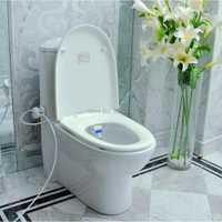 Nuevo diseño de patente de lujo higiénico respetuoso con el medio ambiente y fácil de instalar asiento de inodoro de alta tecnología portátil de pared sanitaria Bidet