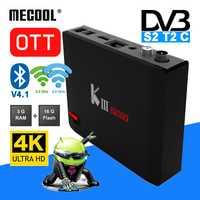 MECOOL matar PRO Amlogic S912 Android TV Box 3 GB 16 GB DVB-S2 DVB-T2 DVB-C decodificador + KI PRO KII PRO TV caja Amlogic S905D 2G 16G