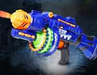 Taorisfun juguete eléctrico pistola Blaster pistola de airsoft con 40 unids balas suaves de plástico arma segura arma al aire libre Militar juguete juego pistola