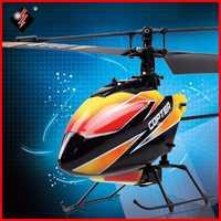 Original WLtoys V911 helicóptero RC 2,4G 4CH Drone juguete de Control remoto de Drones volando juguete Helicoptero avión chico Drone regalos