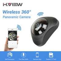 H 360 cámara CCTV 720 P Cámara cámara IP Wifi cámaras 960 P Camara IP 1200TVL de ojo de pez de cámaras de Video vigilancia