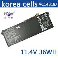 HSW nuevo 11,4 V 36 wh batería del ordenador portátil para Acer Aspire E3-111 V3-111 V3-111P V5-122 KT0030G AC14B18J 4ICP5/57/80 bateria