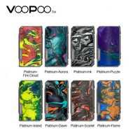 Original 177W VOOPOO arrastrar 2 platino Mod vs arrastrar 2 Caja MOD firmware actualizado Ecig Vape vaporizador del Gen mod/Shogun/Drag Nano
