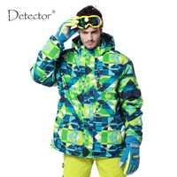 Nuevo Detector impermeable a prueba de viento senderismo camping chaqueta exterior ropa de invierno ropa de esquí snowboard chaqueta hombres