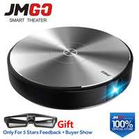 JMGO N7L proyector Full HD 1920*1080 P 2G + 16G 700 lúmenes ANSI inteligente Beamer WIFI Bluetooth altavoz HDMI USB soporte 4 K TV LED