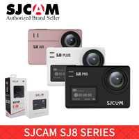 SJCAM SJ8 serie SJ8 aire y SJ8 más y SJ8 Pro 1290 P yi 4 K acción Cámara WIFI remoto impermeable deportes DV casco go pro
