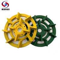 RIJILEI 8 pulgadas 180mm metal de diamante de bond de disco para granito para auto máquina de pulir herramientas MG01