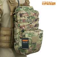 Excelente ELITE SPANKER exterior táctico Molle Nylon hidratación bolsa caza camuflaje bolsas ejército militar combate chaleco hidratación bolsa