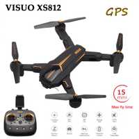 Cuaderno visual XS812 plegable GPS Drone RC Drone con 2MP/5MP Cámara 5G WiFi GPS Positoning RC helicóptero de altitud Quadcopter
