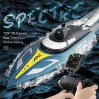 JJRC S4 grande de alta velocidad lancha WIFI transmisión en tiempo Real de imagen fotografía aérea Racing lancha juguete eléctrico