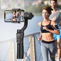 Support extérieur 3 axes Flexible H4 stabilisateur de cardan de poche pour iPhone 11 9 8 Huawei Samsung téléphone intelligent caméra d'action PTZ