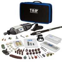 170 V 220 W eléctrico Mini Kit de taladro de mano molinillo estilo Dremel perforación grabado pulido Unid 175 PC bolsa de herramientas conjunto de accesorios DIY