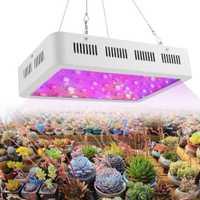 600 W 60 LED planta creciendo la lámpara colgando espectro completo crece la luz con interruptor de INTERIOR PLANTAS crecimiento vegetal hidroponía sistema