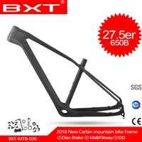 2018 BXT nuevo carbono mtb montaña bicicletas marco 27.5er T800 UD barato China carbono bicicleta marco mtb 27.5er bicicleta carbono marco