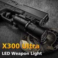 500 lúmenes de alta potencia táctica X300 Ultra de la pistola de luz X300U arma luz Lanterna linterna Glock 1911 pistola de luz