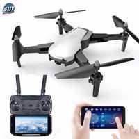 Q21 Caméra Drone Avec Caméra HD Drone Flux Optique Positionnement Quadrocopter Maintien D'altitude FPV Quadricoptères Pliant hélicoptère rc