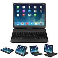 Étui pour ipad pro à Rotation de 360 degrés 11 pouces avec support pivotant pour clavier sans fil Bluetooth étui à rabat résistant aux chocs