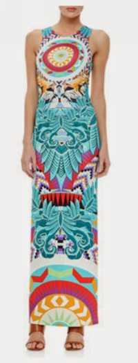 Venta caliente superior fasion vestido de verano impresión de las mujeres Vestido de punto gentlewomen vestido más largo