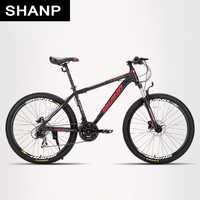 SHANP de bicicleta de montaña de marco de aluminio de 21/24 de velocidad Shimano 26