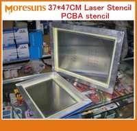 37*47 CM plantilla láser PCBA PCB smt plantilla con marco y sin marco PCBA PCB ASAMBLEA DE ACERO INOXIDABLE plantilla