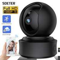 SDETER 1080 P IP cámara inalámbrica WIFI CÁMARA DE CCTV Cámara YI nube Pan/Tilt/Zoom visión de noche bebé llorando alarma Monitor de bebé