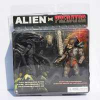 NECA Alien VS Predator juguetes Alien figura Predator PVC figura de acción de juguete
