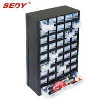 Nueva 41 cajones gabinete de almacenamiento Cajas de herramientas pecho plástico organizador herramientas bin