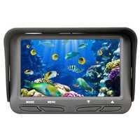 ABGZ-cámara de vídeo de pesca bajo el agua herramientas de pesca de 4,3 pulgadas Monitor Lcd 6 Led 720P cámara de visión nocturna peces 30M Cable buscador de peces Ff