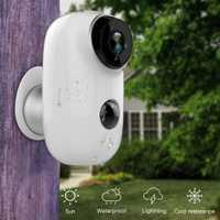 SDETER de alambre 100%-batería recargable CCTV Wifi cámara IP al aire libre IP65 impermeable cámara de seguridad de interior PIR movimiento de alarma