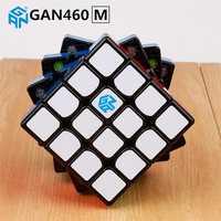 GAN460 M 4x4x4 rompecabezas magnético Cubo mágico GAN 460 profesional 4 capa imanes Cubo Magico GANS juguetes para niños